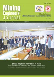 Mining Engineer's Association of India